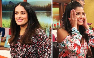 Detrás de cámaras: Salma Hayek se quedó con ganas de guacamole y Ana Pat...