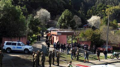 Voraz incendio acaba con la vida de al menos una decena de ancianas en un asilo de Chile
