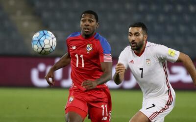 Panamá cayó 2-1 ant Irán.