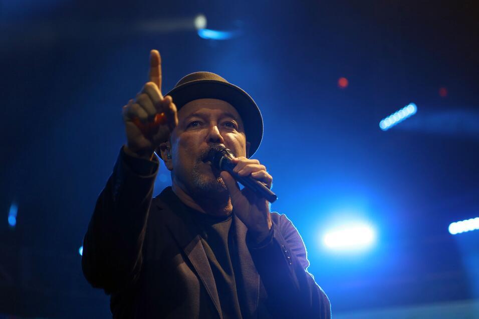 Rubén Blades en el BankUnited Center de Miami el 27 de agosto 2016.