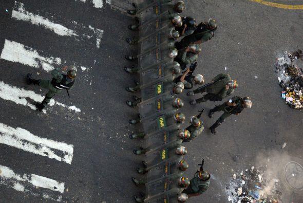 Los hechos se produjeron en la puerta de la Fiscalía General de Venezuel...