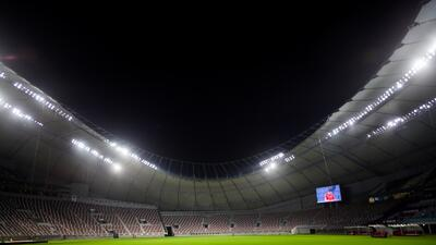 Así se ve el Khalifa International, el primer estadio refrigerado al aire libre del mundo