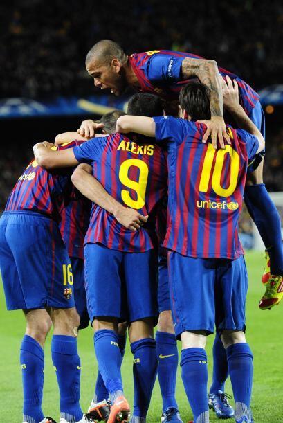 Barcelona ganaba en su campo ante un equipo inglés apostando al contra-a...