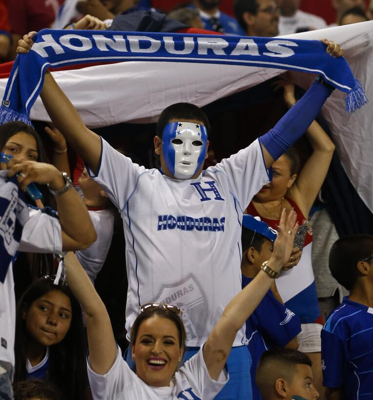 Aficionados Honduras Costa Rica Red Bull Arena
