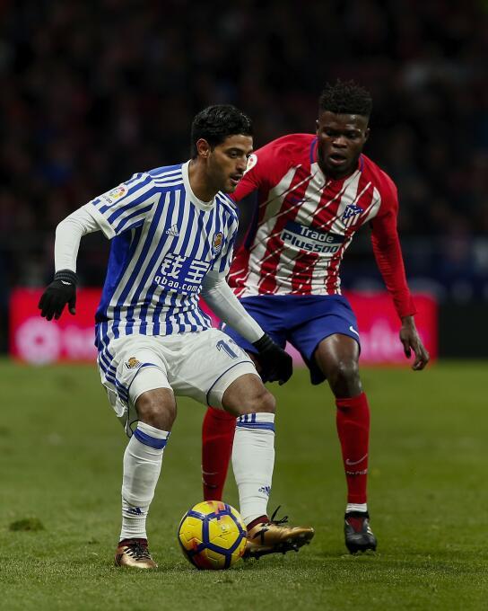 Athletic Bilbao 0-[0] Real Sociedad: Carlos Vela jugó cinco minutos con...