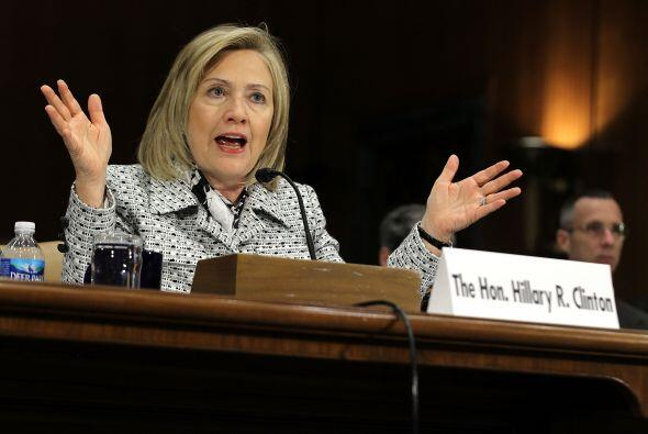 La política no es ajena a la vida de Hillary Clinton, la ex precandidata...