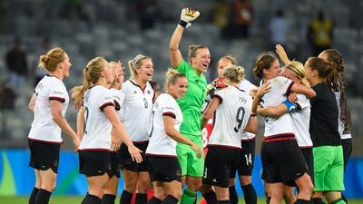 Alemania venció a Canadá y peleará la medalla de oro en el fútbol femenil de Río