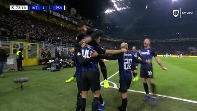 ¡GOOOL! Mauro Icardi anota para Internazionale