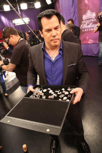Charlie Lapson es el diseñador oficial de las joyas de la octava...