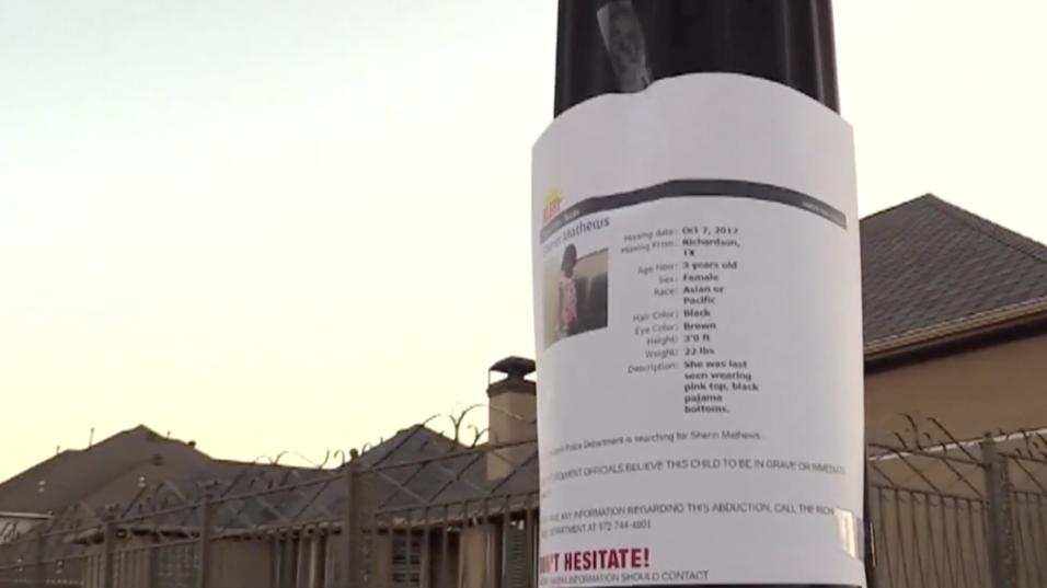Temor y sospechas rodean la casa de Sherin Mathews, desaparecida hace un...