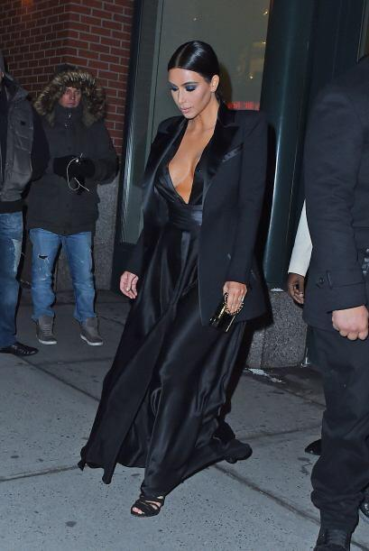 No dejas de sorprendernos, Kim...