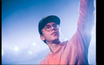 Rapper Logic posts a photo to his Facebook page on November 24, 2017. Th...