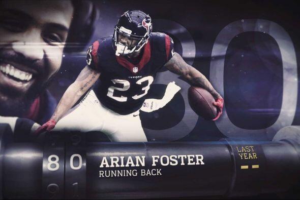 #80 Arian Foster.