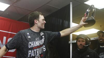 De la mano de Tom Brady los Pats llegan a su tercer Super Bowl consecutivo