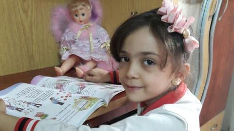 Bana Alabed, la niña de siete años que relató en Twitter el horror de la...