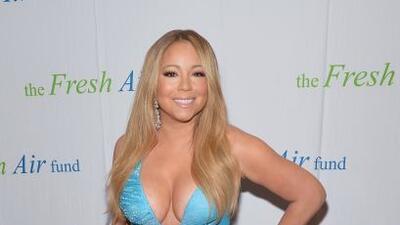 ¡Wow! con esos escotazos súper sexys, Mariah Carey se apodera de toda la...