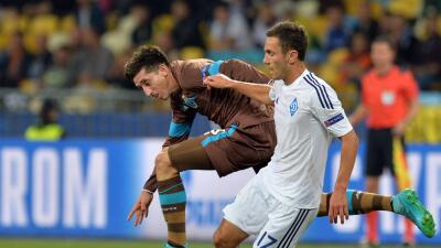Porto y el Dinamo ya empataron en Kiev