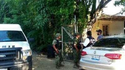 Hechos de violencia en Acapulco, México.