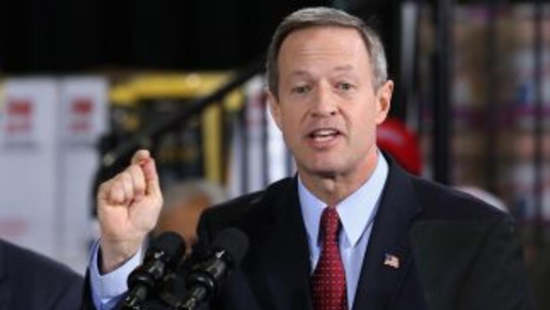 Martin O'Malley, gobernador de Maryland (D).