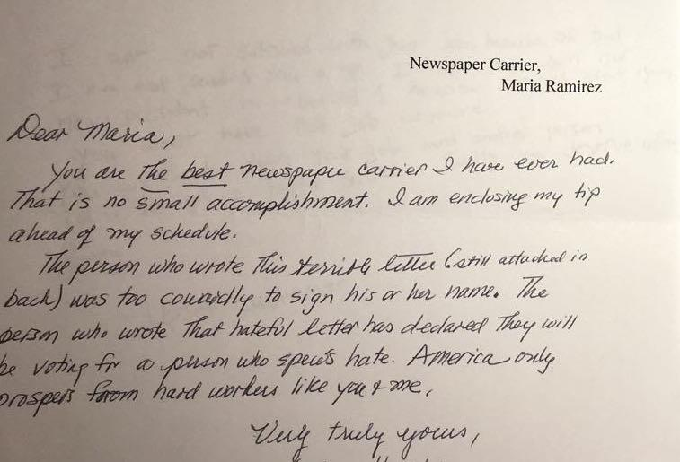 Letters of support flooded in after Ramírez wrote to her customers.