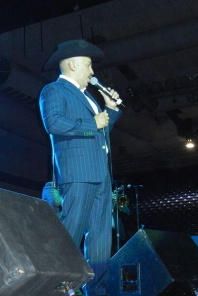 """Lupillo Rivera interpretó temas como """"Despreciado"""" y """"Cómo olvidar""""."""