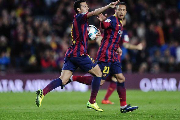 Tras una jugada de corazón por parte de Dani Alves, el brasileño cedió p...