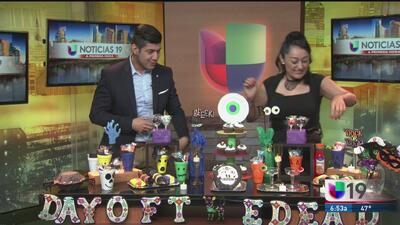 Crea decoraciones para Halloween y Día de muertos con materiales reciclables
