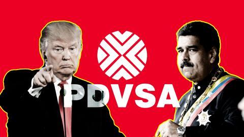 Trump, Maduro Pdvsa