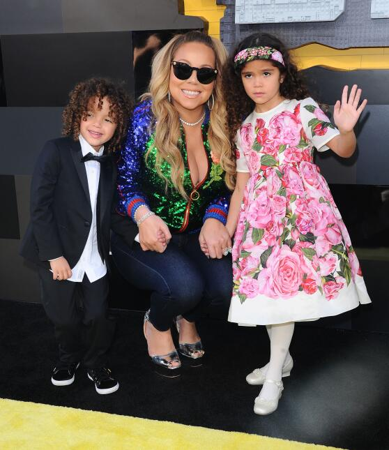 Mariah Carey attends the Premiere of Warner Bros. Pictures' 'The...
