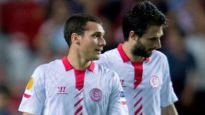 Sevilla ganaba 2-0, pero el cuadro vallisoletano reaccionó en los último...