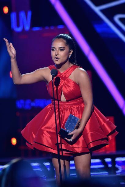 ¡Wow! La ganadora fue Becky G en la categoría Favorite Hit por su canció...