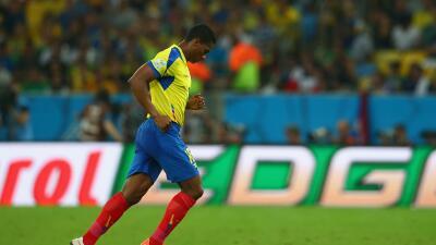 El ecuatoriano se perderá la Copa América debido a una les...