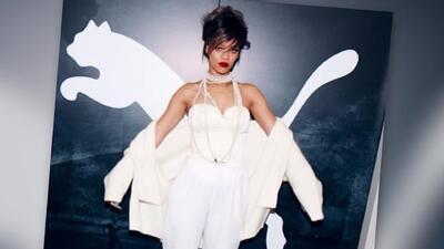 Rihanna es nombrada nueva directora creativa de Puma