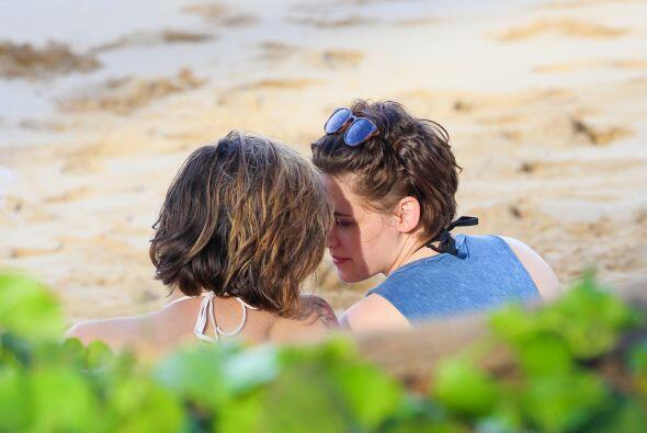 Entonces llegó el momento del beso.