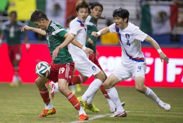 México no había generado muchas oportunidades al frente hasta que al min...