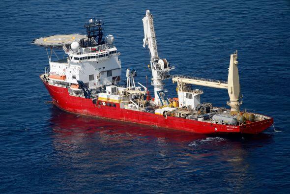 Los ingenieros de BP reanudaron el lunes la perforación del último tramo...