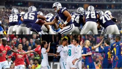 Dallas Cowboys sigue siendo más valiosos que los 'monstruos' del fútbol