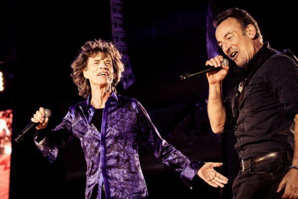 En el escenario de Rock in Rio ha habido grandes artistas como los Rolli...
