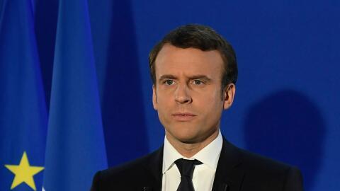 Macron aseguró que garantizará la unidad del país y...