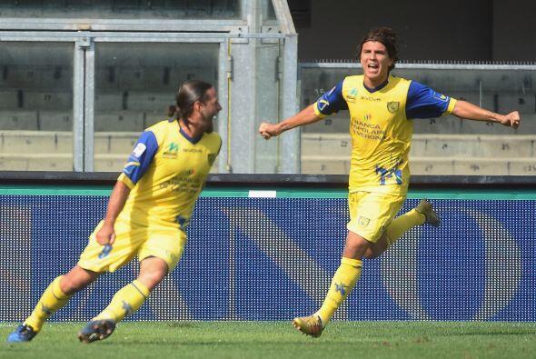 Pero el Chievo supo reaccionar con el tanto de Sergio Pellissier.