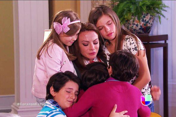 Los niños te quieren con todo su corazón. Y hasta Alicia volvió a tus br...