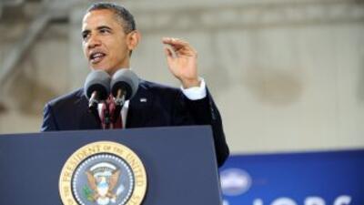 Barack Obama presentará su plan de empleos por partes en el Congreso.