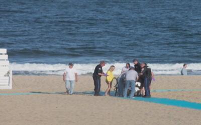 Murió la niña que permanecía grave tras ser rescata en las playas de Bel...
