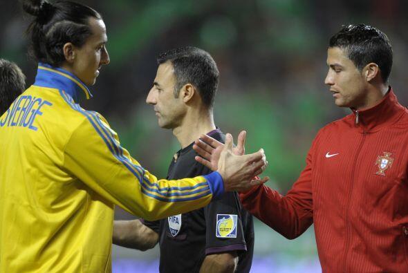 Cristiano Ronaldo da espectáculo más allá de sus grandes jugadas. El por...