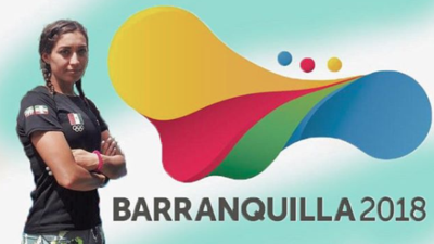 Mariana Arceo, guapa pentatleta mexicana quien dijo adiós a Barranquilla 2018 con oro