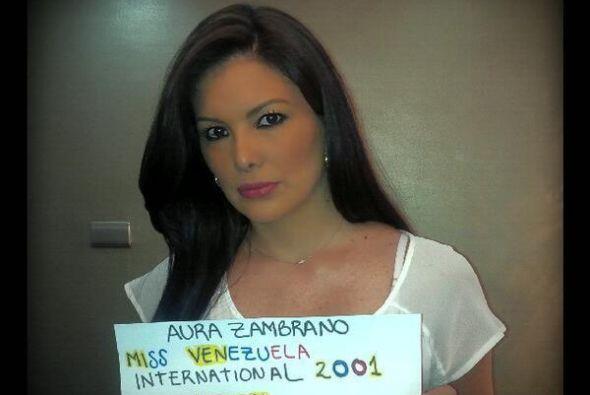 Aura Zambrano, Miss Venezuela Internacional 2001, pidió ayuda y rezos pa...
