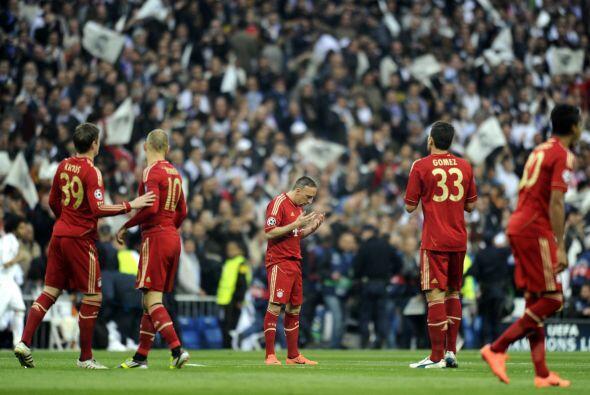 Bayern Múnich la pasaba muy mal.