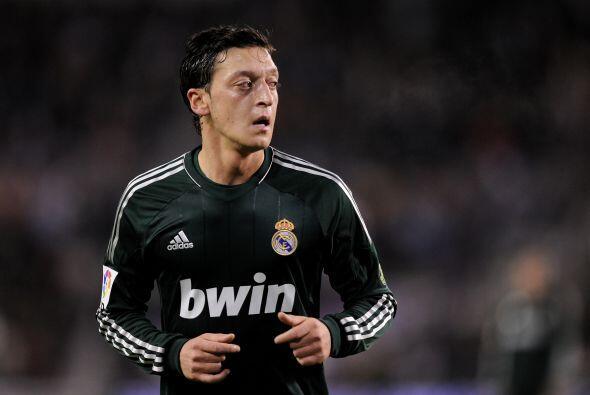 Cuando el Madrid perdía, Mesut empató el partido y m&aacut...