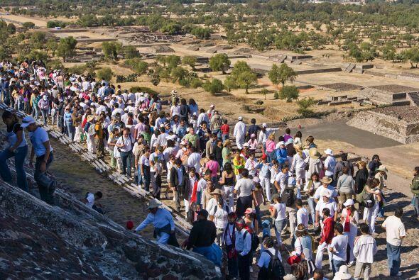 Teotihuacán es la zona más visitada de México, con dos millones de visit...