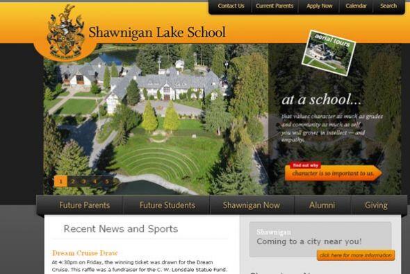 SHAWNIGAN LAKE SCHOOL- Ubicada en Vancouver, Canadá, este instituto es r...
